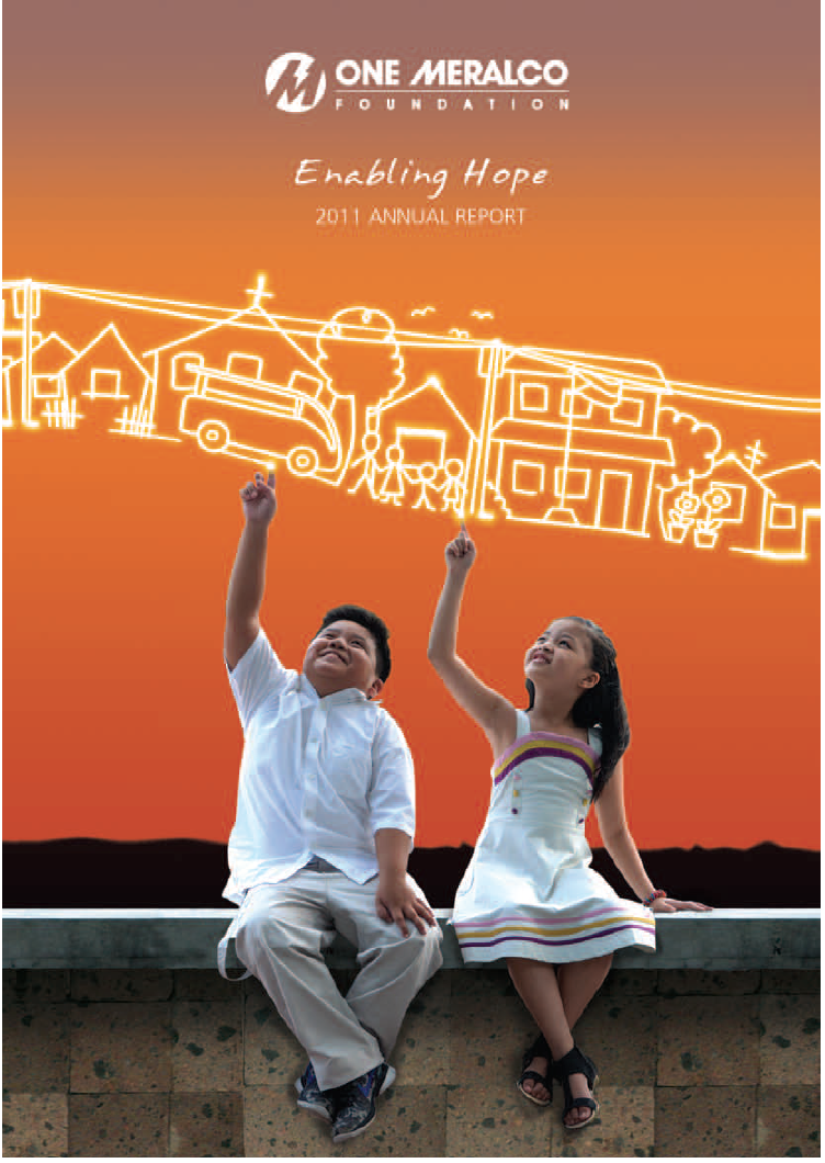 2011 One Meralco Foundation Annual Report