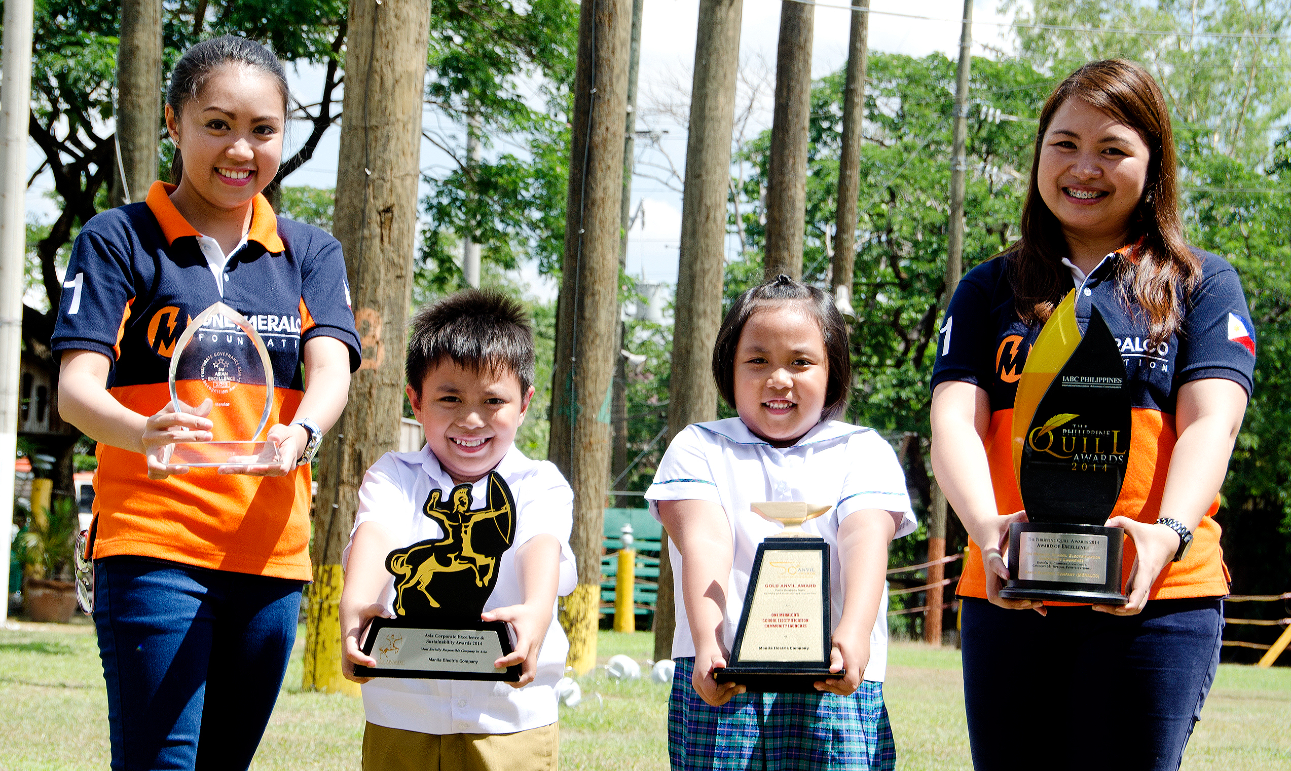 One Meralco Foundation awards