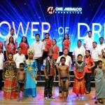 The energy campers and the beneficiaries of OMF's School Electrification Program.