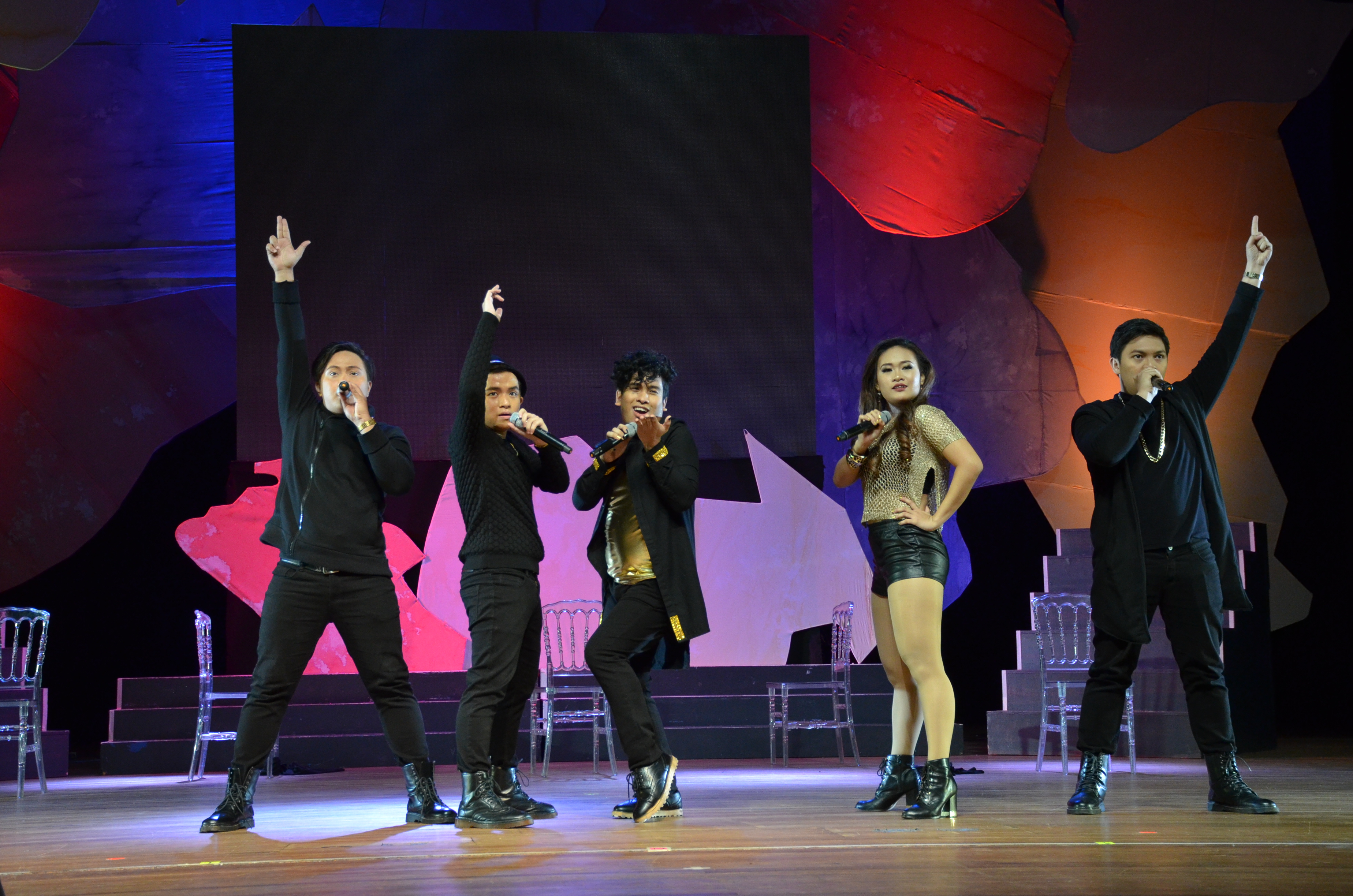 "Bulacan-based a cappella group ""Acapella Go"" reclaimed their title as champion in the Akapela Open competition."