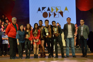 The second placer in last year's competition, Dynamix, maintained their post in the 2015 Akapela Open.