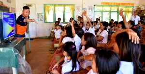 With electricity in their schools, students can now take advantage of modern learning tools.
