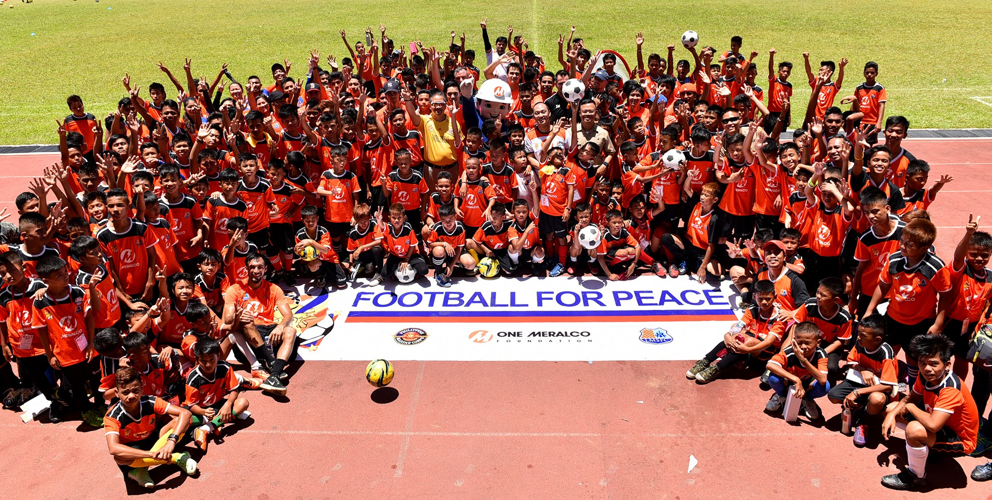 Young athletes from Mindanao participate in 'Football for Peace'