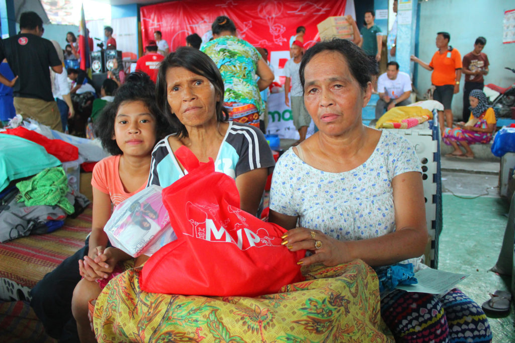 THERE'S NO PLACE LIKE HOME. Like thousands of others, this family displaced by the conflict in Marawi City hopes to come home soon and live in peace once more.