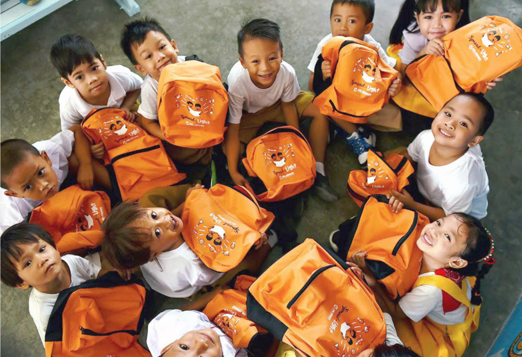 Each year, thousands of students in public schools in the Meralco franchise area receive donations from employees of Meralco and its subsidiaries as part of One Meralco Foundation's back-to-school campaign. 2019
