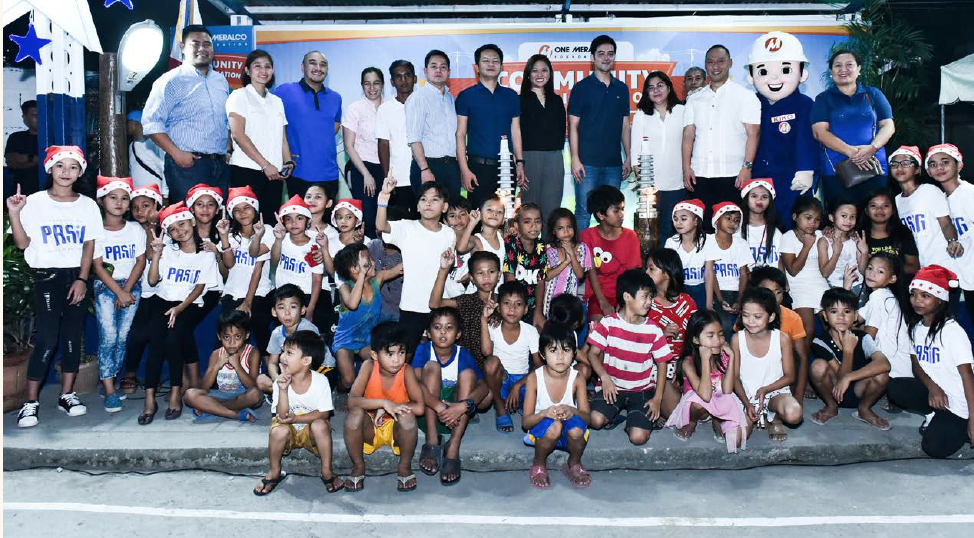 "Among those energized by OMF's household electrification program in 2019 are two communities in Pasig City: Greenhills Homeowners' Association in Brgy. Pineda, and Kangkungan Landless Association in Brgy. Manggahan. Residents here did not have access to electricity for more than 15 years due to tenure and right-of-way issues. OMF, Meralco and the Pasig City government led by Mayor Victor María Regis ""Vico"" N. Sotto worked together to finally bring electricity service to more than a hundred homes."